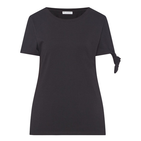 Knot Sleeve T-Shirt, ${color}