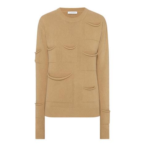 Multi Pocket Sweater, ${color}