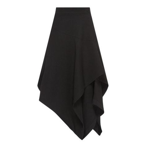 Layered Asymmetrical Skirt, ${color}