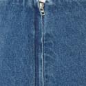 Ruffled Denim Skirt, ${color}