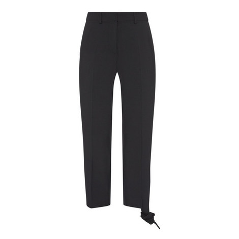 Knot Hem Trousers, ${color}