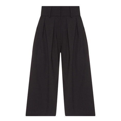 Pleated Front Culottes, ${color}