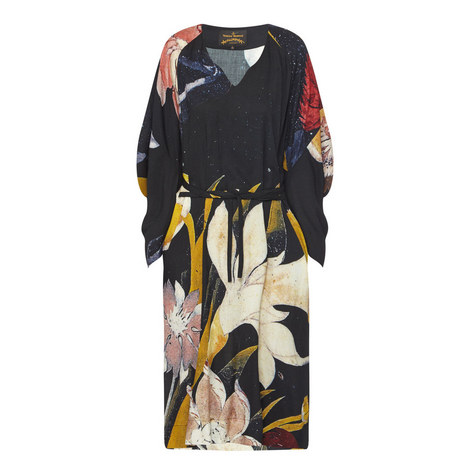 Witches Print Dress, ${color}
