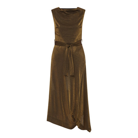 Vasari Metallic Dress , ${color}