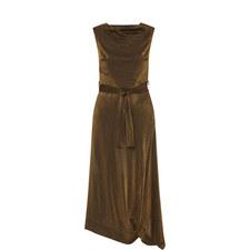 Vasari Metallic Dress