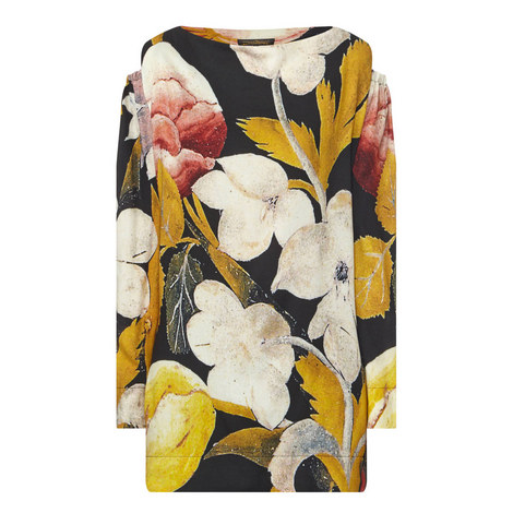 Fatima Crepe Floral Print Top, ${color}