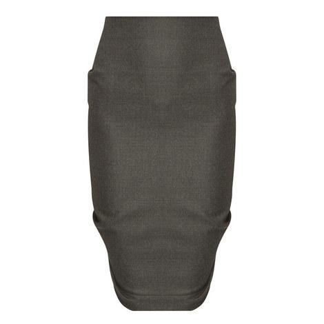 Asymmetrical Pencil Skirt, ${color}