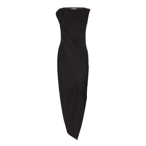 Vian Drape Jersey Dress, ${color}