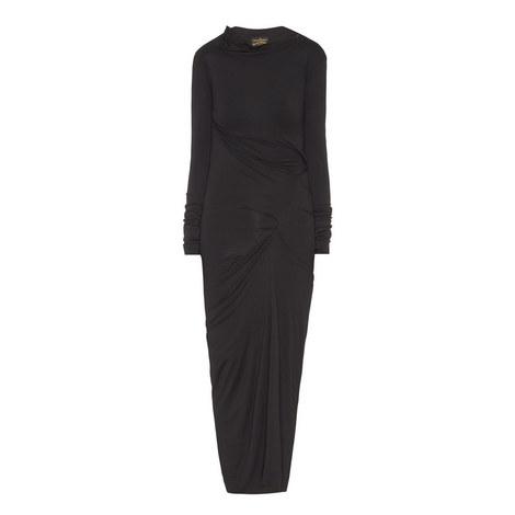 Taxa Ruched Maxi Dress, ${color}