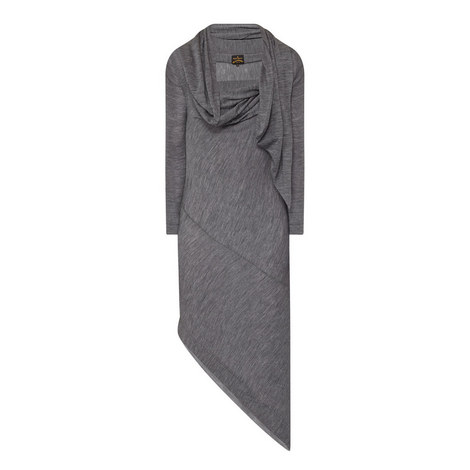 Arro Asymmetrical Wool Dress, ${color}