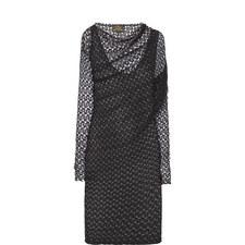 Toga Lace Drape Dress