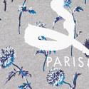 Dandelion Print Logo Sweatshirt, ${color}