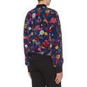 Silk Floral Bomber Jacket, ${color}