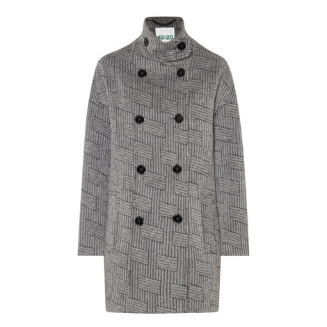 Relaxed Fit Wool Coat, ${color}