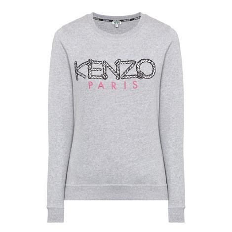 Logo Embroidered Sweatshirt, ${color}
