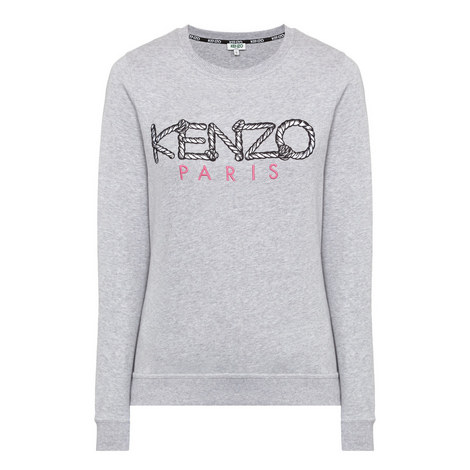 Logo Embroidered Sweatshirt, ${color}