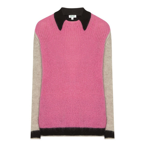 Mohair Knit Sweater, ${color}