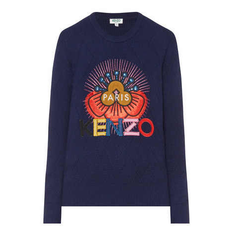Logo Wool Sweater, ${color}
