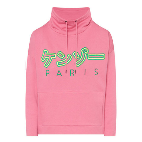 Cowl Neck Sweatshirt, ${color}