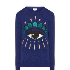 Large Eye Icon Sweater