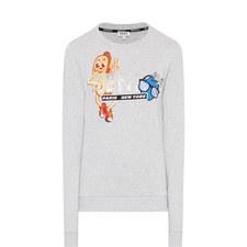Logo Appliqué Sweatshirt