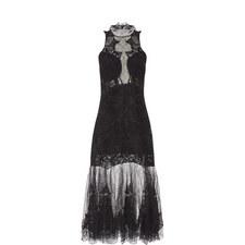 Dome Lace Appliqué Gown