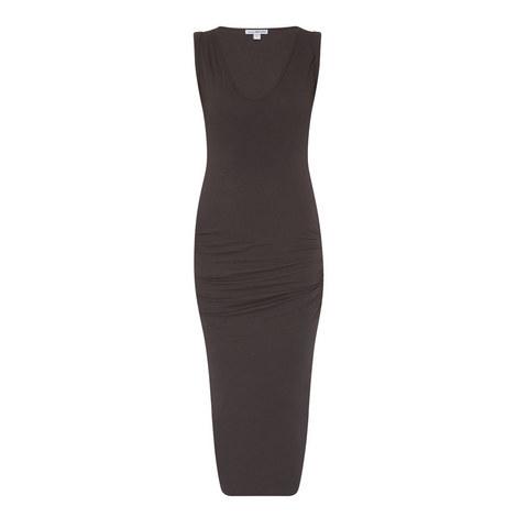 Twist Sleeve Dress, ${color}