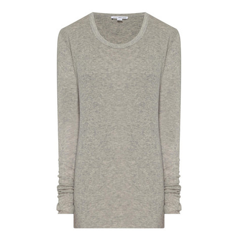 Ribbed Long Sleeve T-Shirt, ${color}
