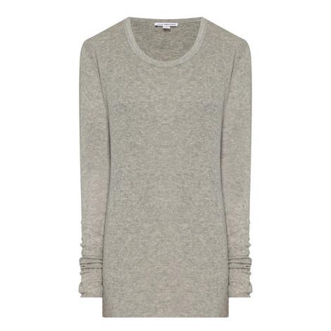 Ribbed Long Sleeve T-Shirt, ${color}