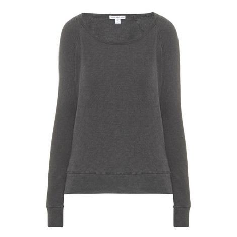 Raglan Sleeve Supima Cotton Sweater, ${color}