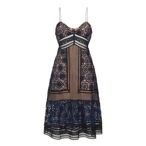 Strappy Lace Dress, ${color}