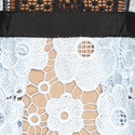 Short Sleeve Lace Midi Dress, ${color}