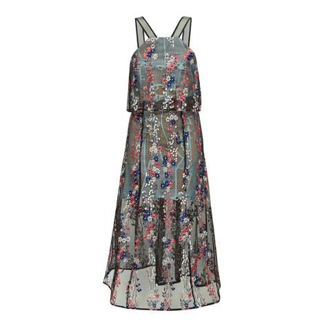 Floral Vine Embroidery Dress, ${color}