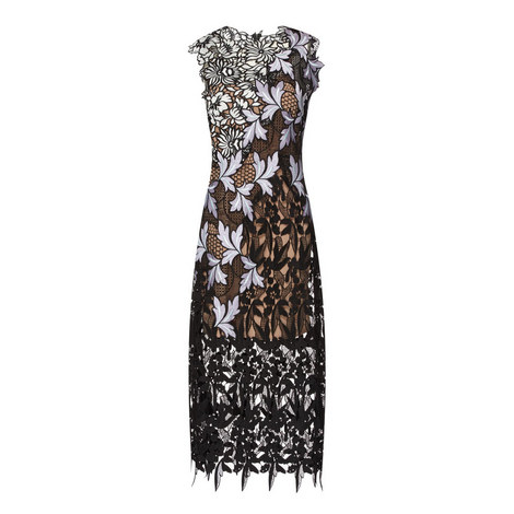 Lace Patchwork Dress, ${color}