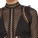 Hall Lace Mini Dress, ${color}