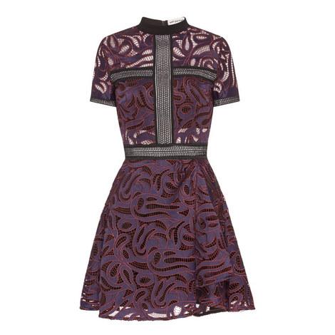 Eliza Cutwork Mini Dress, ${color}