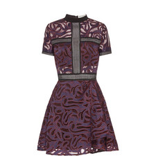 Eliza Cutwork Mini Dress