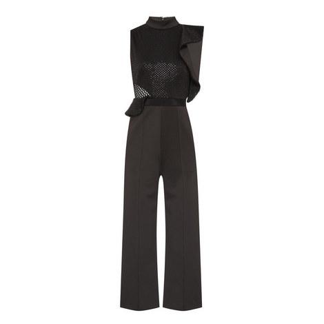 Beaded Sequin Jumpsuit, ${color}