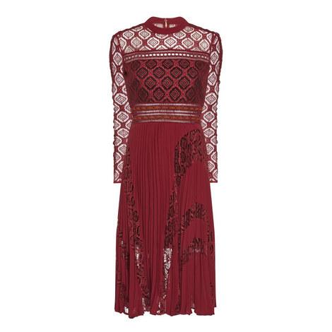High Neck Midi Dress, ${color}