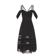 Off Shoulder Lace Detail Dress