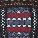 Hexagon Lace Peplum Top, ${color}