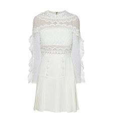 Bellis Lace Trim Dress