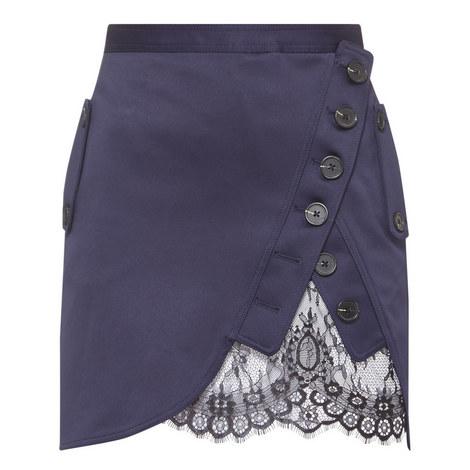 Lace Detail Utility Skirt, ${color}