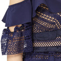Satin Frill Dress, ${color}