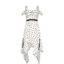 Printed Star Midi Dress