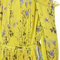 Floral Print Cold-Shoulder Gown, ${color}