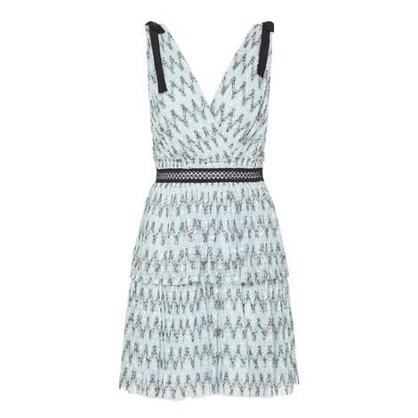 Mesh Mini Dress, ${color}