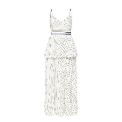 Stripe Tiered Dress, ${color}