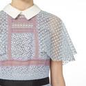 Floral Cape Midi Dress , ${color}