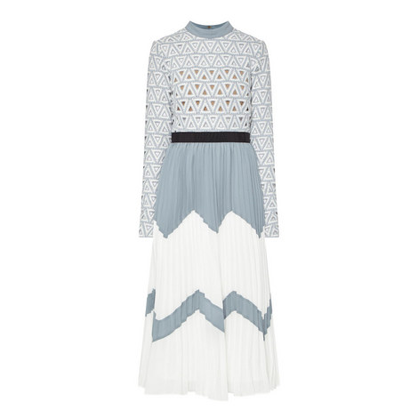Triangle Lace Dress, ${color}
